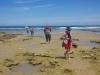 Rocky coast in Torquay