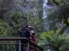 Time and Aleksi at Erskine Falls