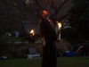 Fire-juggling tricks