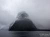 Mt Kimberley covered in fog