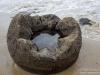 Broken down boulder