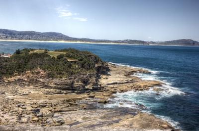 Coastal cliffs (HDR)